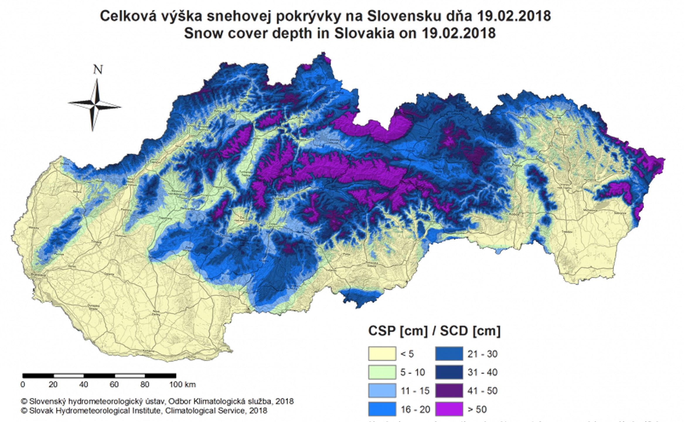 Obrázok k snehovej správe